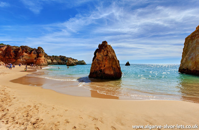 Beaches near Alvor